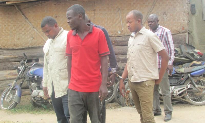 Police Arrest Prime Suspects In Gruesome Murder Of BodaBoda Cyclists In Western Region