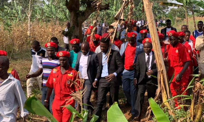 Police Fire Bullets, Teargas At Bobi Wine Supporters In Gomba