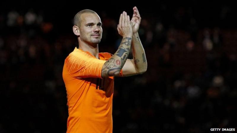 Legendary Wesley Sneijder Retires