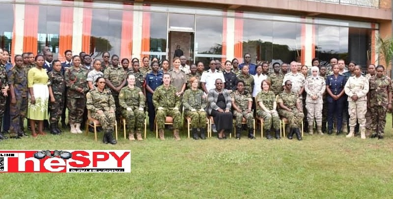 UPDF, CAF Conduct  Workshop On Women, Peace And Security