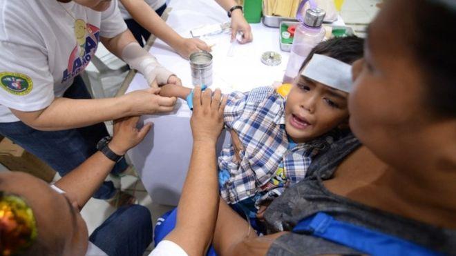 Hundreds Of Children Die In Philippine Dengue Epidemic