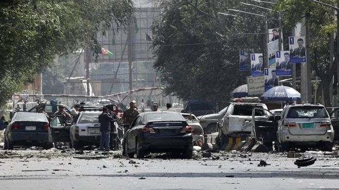 Car Bomb Claims 10 Innocent Lives In Kabul