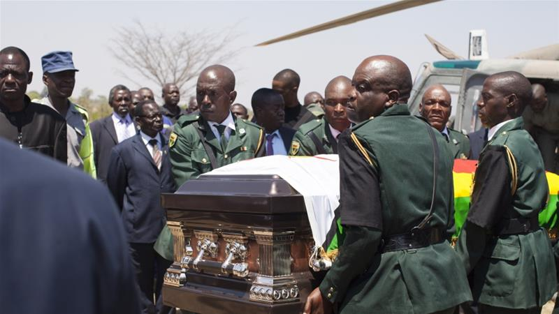 After Wrangles, Mugabe's Body Finally  Moved To Ancestral Home Ahead Of Weekend Burial