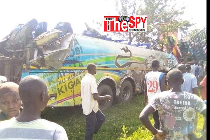 Over Eight Perish In Bugiri Bus Accident