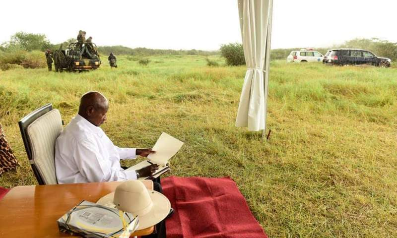 'Karamoja Is Not Dry, That's Just A Myth'-Museveni