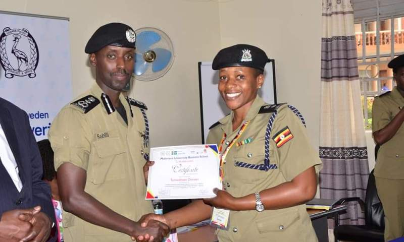 Police Equips Female Officers  With Leadership Skills