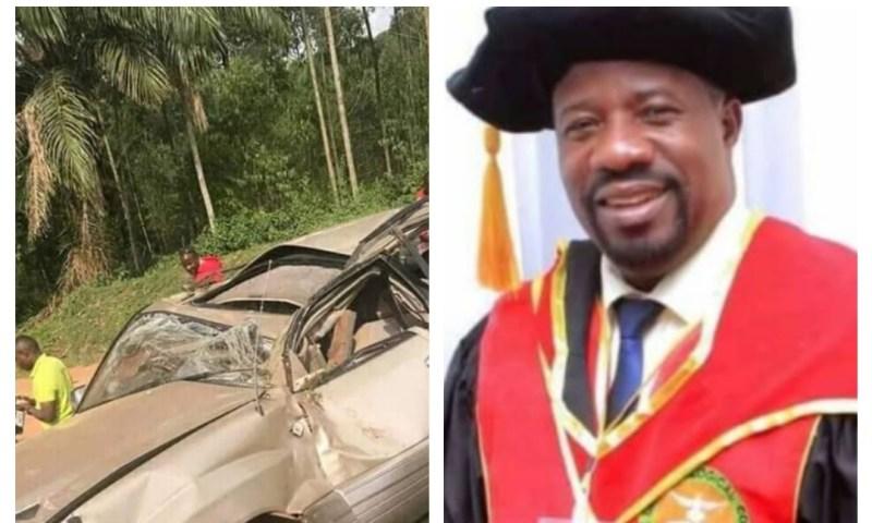 Bishop Kiganda Cheats Death In Nasty Accident
