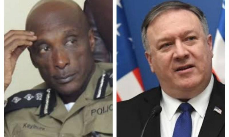 US Secretary Of State Pompeo Issues Statement On Gen. Kayihura Sanctions