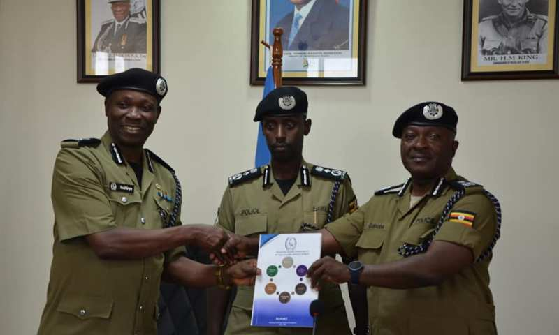 DIGP Sabiiti  Assigns M7'S Appointed UPDF Officers In Police Leadership
