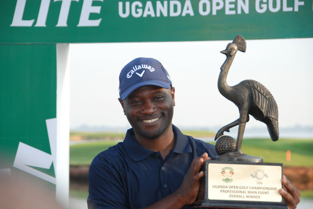 Zambian Wins 2019 Uganda Open Professional  Golf Title, Again