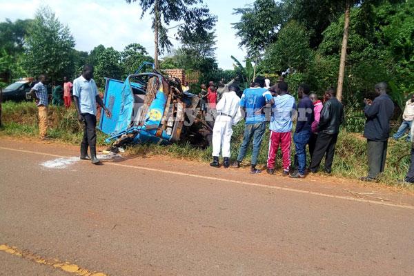 Seven Perish In Kyankwazi Road Accident