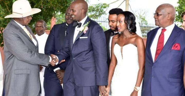 Glamour As Kutesa's Son Weds Gen.Aronda Gal