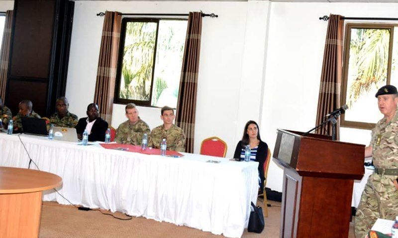 UK Commandos Train UPDF Soldiers On Regional Media Propaganda, Terrorism