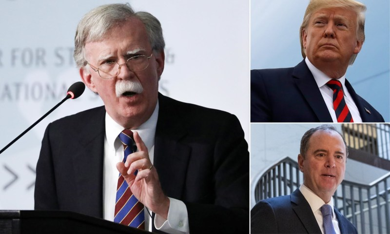 Former Trump National Security Adviser Bolton Will Give Evidence In Closed-Door Impeachment Hearing Next Week