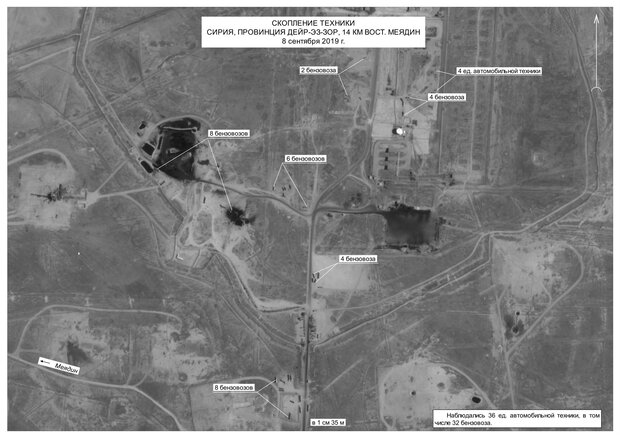Horror As Russia Releases Satellite Images Confirming US Smuggling Of Syrian Oil