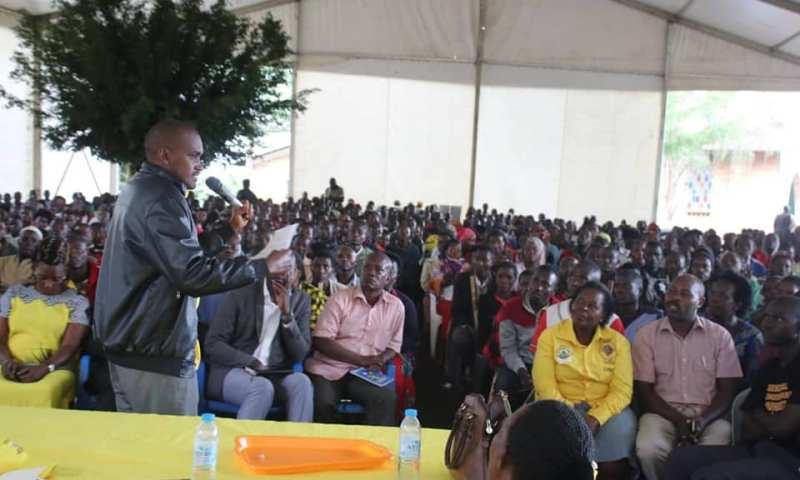 ICT Minister Tumwebaze Preaches Patriotism Gospel In Mubende