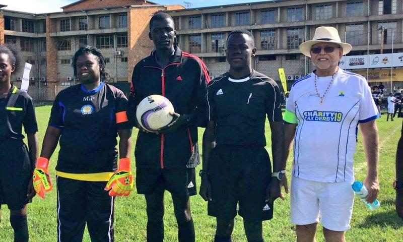 Tycoon Sudhir, URA Boss Akol Captain Their Teams In Tax Derby 2019
