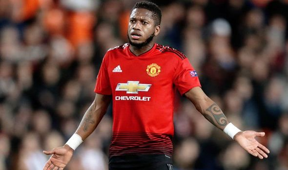 Man United Fans   Angry Over Fred's Performance During Newcastle Game