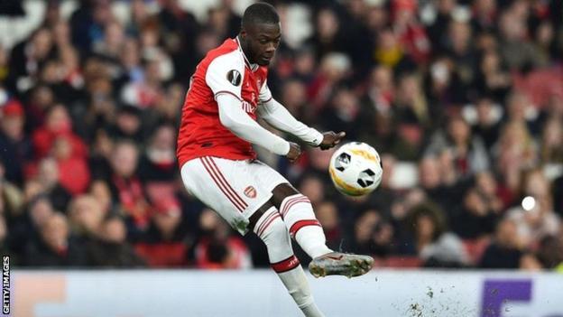 Nicolas Pepe Rescues Arsenal With Two Sublime Free-Kicks