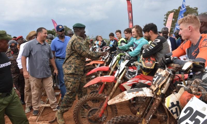 Gen. Muhoozi Graces Motocross Rally  Aimed At Appreciating UPDF, Police