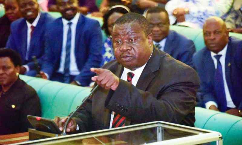 Drama As Min. Otafiire Orders Gov't  To Leave 'His' Njeru Stock Farm