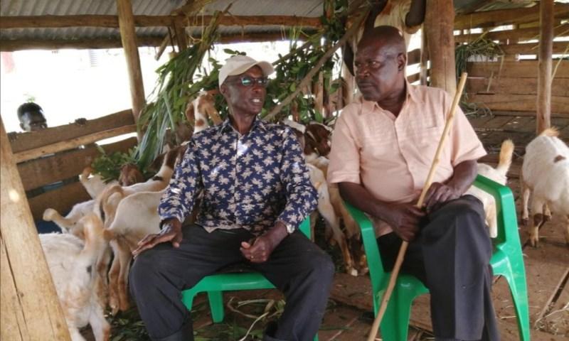 Ex-IGP Kayihura Resorts To Farming, Battle Hardened General Reduced To Commanding Goats!