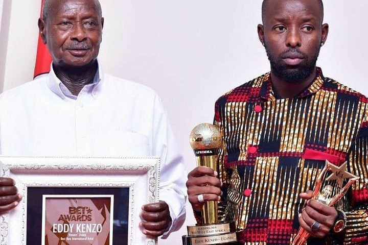 Kenzo On Cloud 9 Over Meeting Museveni After Winning US Award