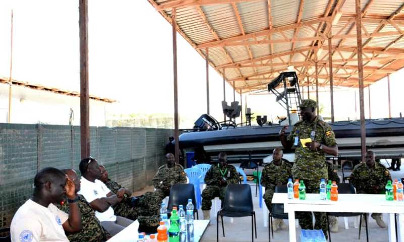 UPDF Marines Take Control Over Somalia Coastal Waters