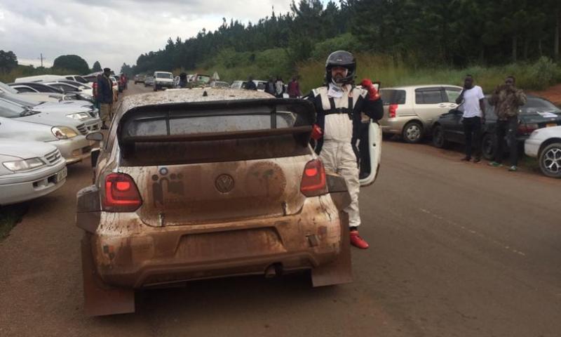 Rally Star Rajiv Prevails At  Total Kabalega Rally 2019