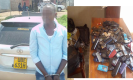 City Thugs Netted with 160 Stolen Mobile Phones