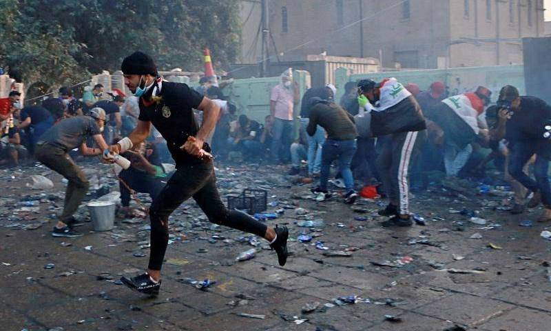 Over 13 Dead, 865 Injured Overnight After Iraqi Police Opened Fire At Protesters