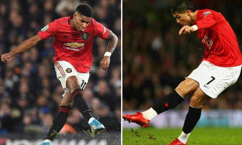 Marcus Rashford Praised By Ole Gunnar Solskjaer After 'Cristiano Ronaldo-Like' Strike