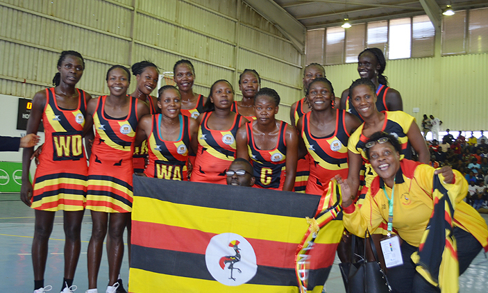 She Cranes Sent Off For Africa Netball Championship