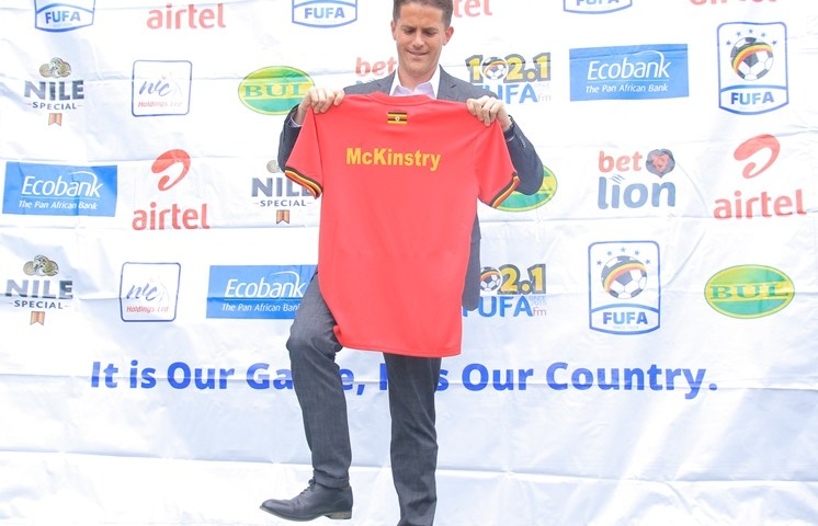 Coach McKinstry Reveals  Why He Dropped International Stars From Uganda Cranes Squad