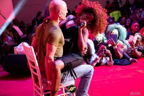 Sheebah Smears Her Nani On UK Fan
