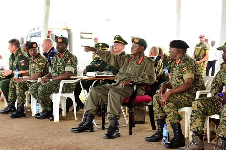 President Museveni Passes Out 321 UPDF Tank Crews