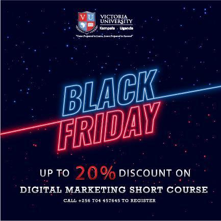 Victoria University Unveils 'Black Friday' For Digital Marketing Courses