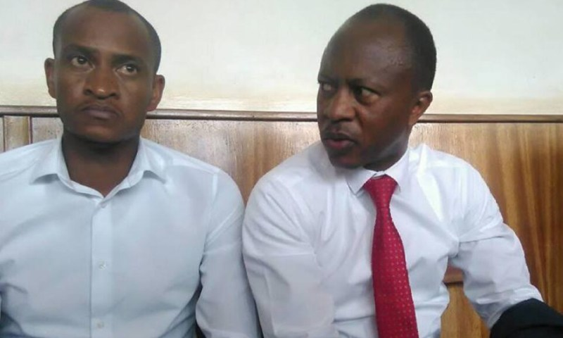 Gashumba On Cloud 9 After Court Dismisses Forgery Case, Demands for Shs1B In Damages