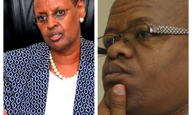 FUFA Boss Magogo Sweats More Plasma As First Lady Directs IGG To Take Over Case