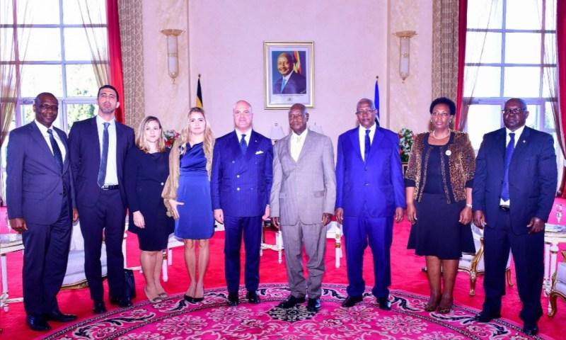 President Museveni Officially Welcomes European Union Envoys To Uganda