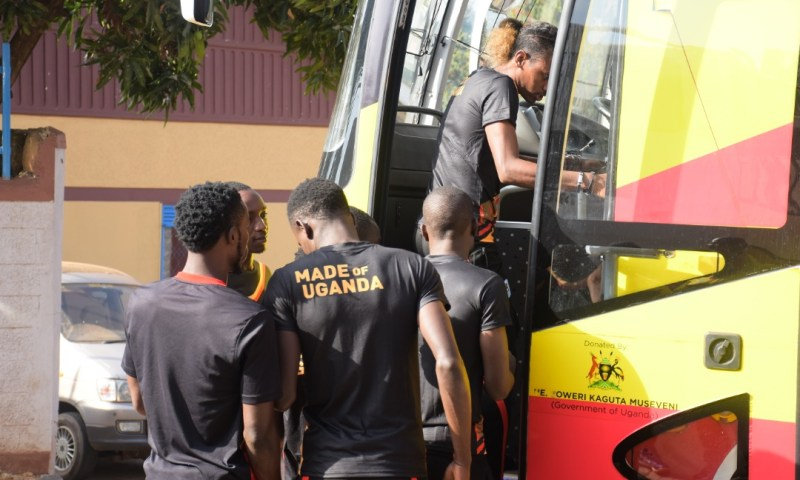 UG Cranes Squad,  Officials Set Off For North-East Region Tour
