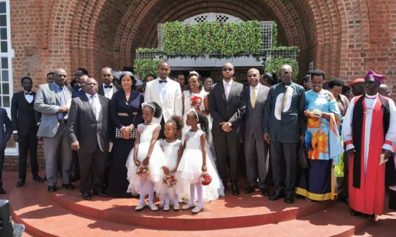 Glamour As Jumia Boss Kawamara Weds Gen. Tumwine's Daughter