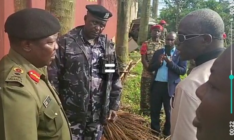 Drama As Security Minister Gen. Tumwine Grills Lt.Gen.Angina Over City Tycoon Kirumira,Ben Land Wrangle
