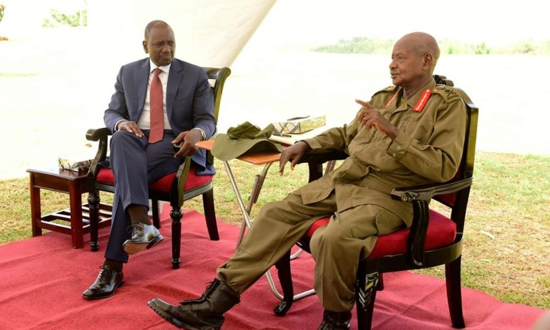 Museveni Offers Shs366m For William Ruto Institute of African Studies