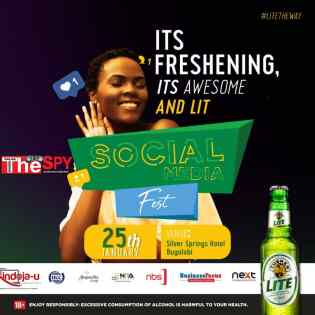 Tycoon Sudhir,UCC Pump Dime In 1st Ever Social Media Fest Slated For This Jan.25th