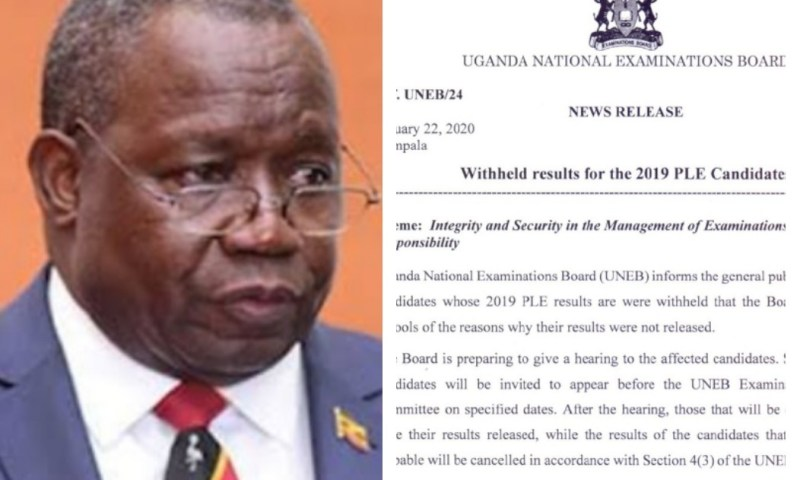 Candidates Whose PLE Were Held To Appear Before UNEB Security Committee