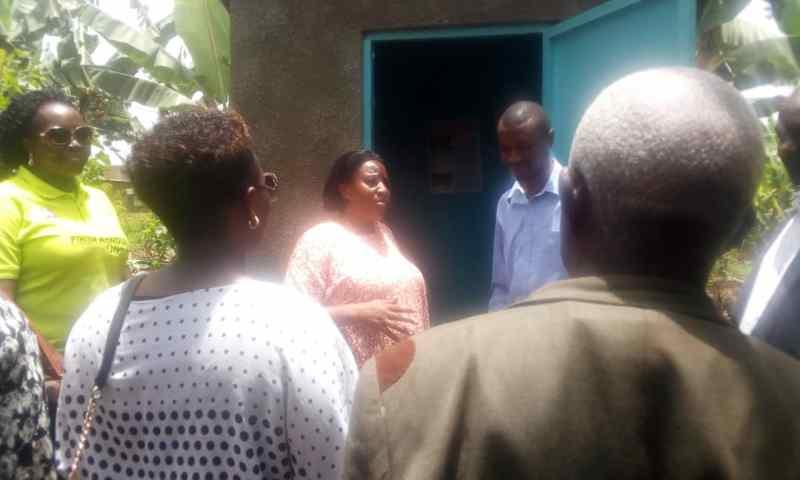 Bunyangabu  Residents Asked  To Embrace Construction Of  Eco-san Toilets