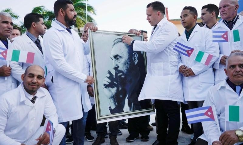 Cuban Doctors Head To Italy To Fight Coronavirus