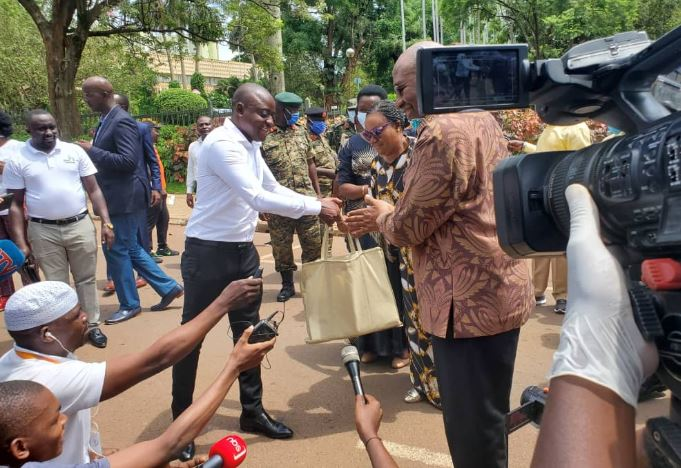 Big Hearted: Tycoon Hamis Donates Shs100m To MoH In Fight Against Coronavirus