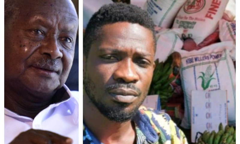 Museveni Wants 'Idiots' Like Bobi Wine, Besigye Arrested For Distributing Food To Ugandans During COVID-19 Lockdown